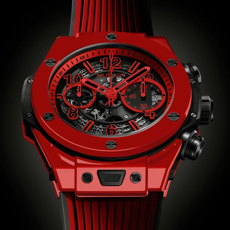 La Cote des Montres™  #Hublot Big Bang Unico Red Magic watch - Making the impossible possible, Hublot creates the first vibrantly coloured ceramic @Hublot #BigBang #UNICO #RedMagic http://thewatchquote.com/11843