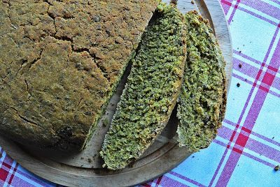 Bread with herbs