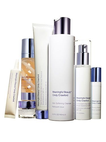 Meaningful Beauty by Cindy Crawford 5-piece Advanced System, 30-day kit