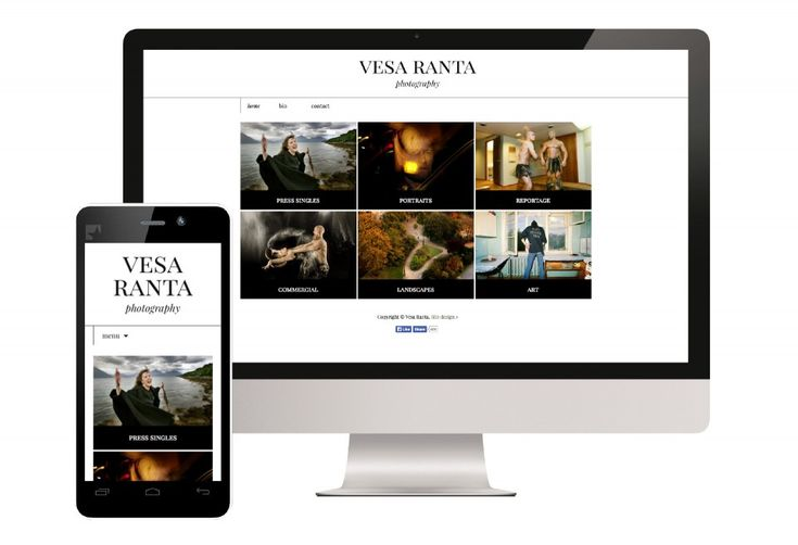 Vesa Ranta Photography, website design and production by Viisaampi Marketing. Vesa Ranta is known as the drummer of the bands Sentenced and The Man-Eating Tree, but how many of you knew he's also a talented professional photographer? After seeing his portfolio I think you all will :)   www.vesaranta.net