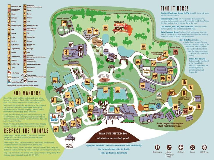 28 best Zoo Maps images on Pinterest The zoo Zoo map and Zoos