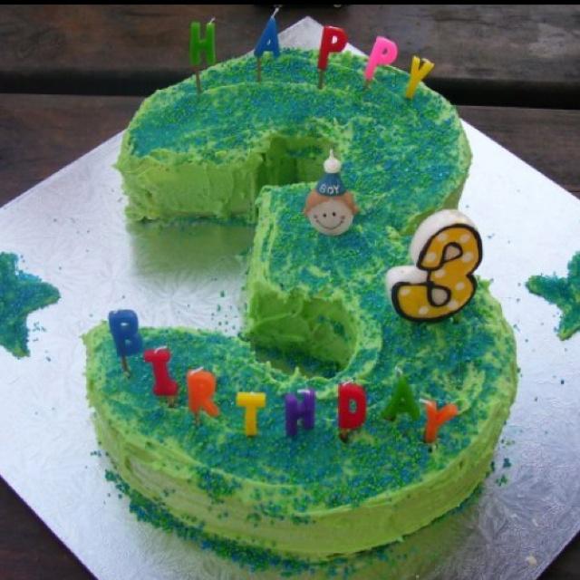 Silas' 3rd birthday cake