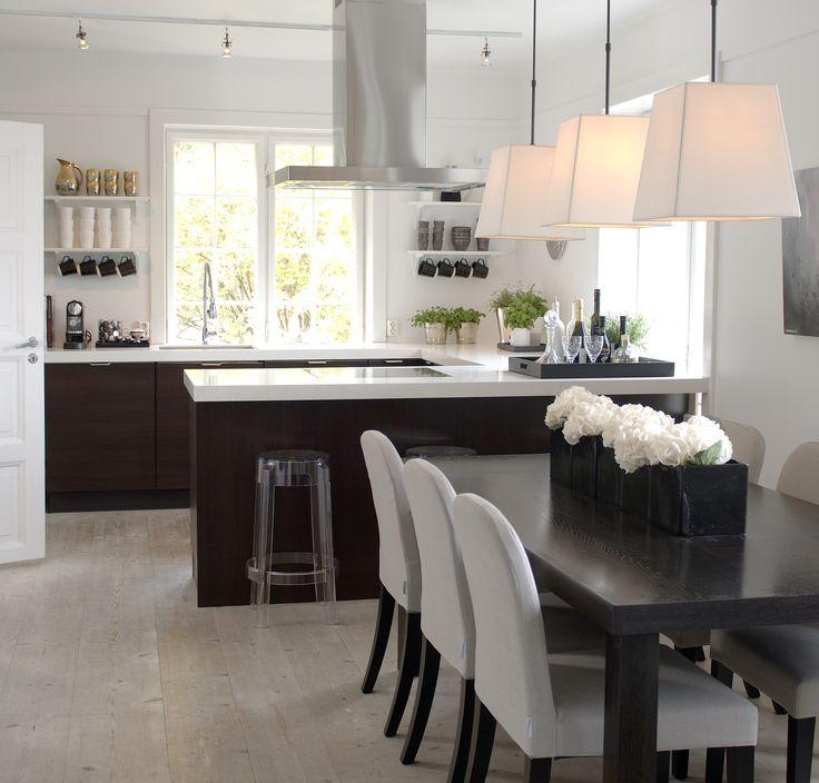 Kitchen - Designed by Norwegian Interior Architect firm Metropolis arkitektur & design - www.metropolis.no