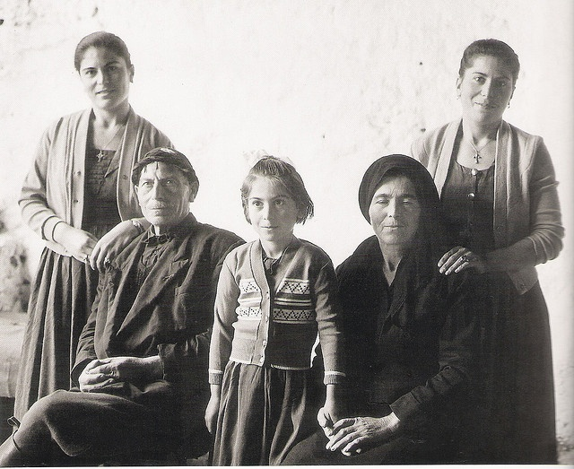 family 1960 by mverivaki, via Flickr (CRETE 1960, by John Donat, Crete University Press)
