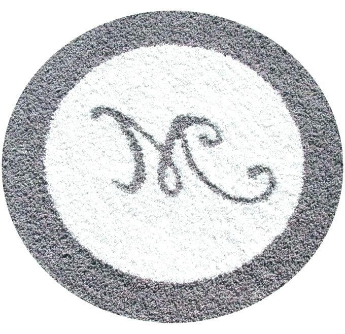Circle Bathroom Rugs Dengan Gambar