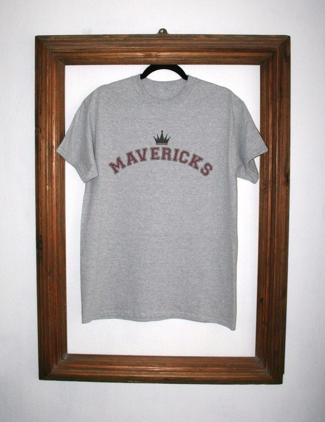 Mavericks Baseball Retro T-shirt £12.00
