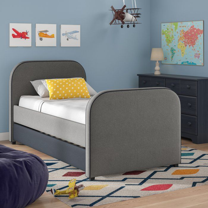 Retha Twin Platform Bed With Trundle Twin Platform Bed
