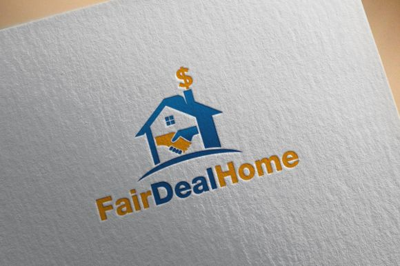 Deal Home Logo by REDVY on Creative Market