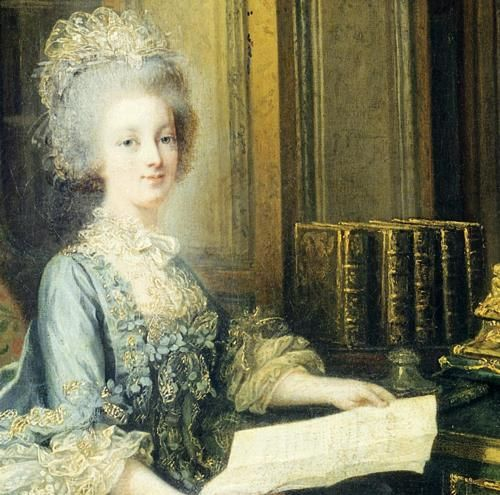 1004 best images about 18th century in blue purple lilac on pinterest madame du barry a lady - Stijl van marie antoinette ...