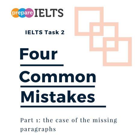 Four common essay mistakes- part 1