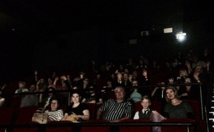The 2015 audience for the Joy House Film Festival www.facebook.com/Joyhousefilmfestival