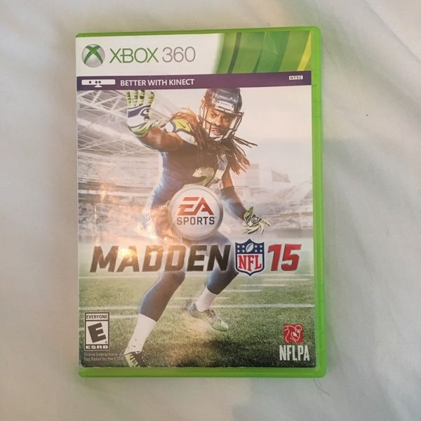 For Sale: Madden 15 Xbox 360 Video Game for $18