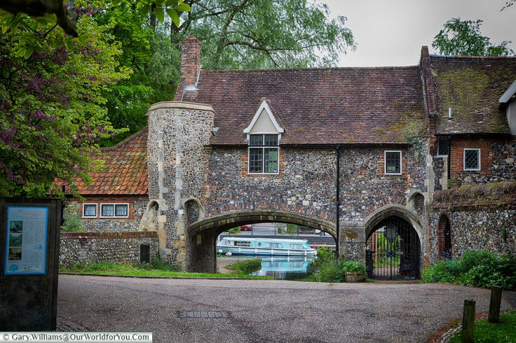 Pulls Ferry, Norwich, Norfolk, England
