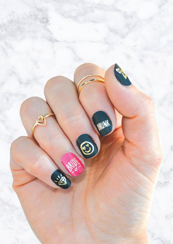 The 25 Best Bachelorette Party Nails Ideas On Pinterest