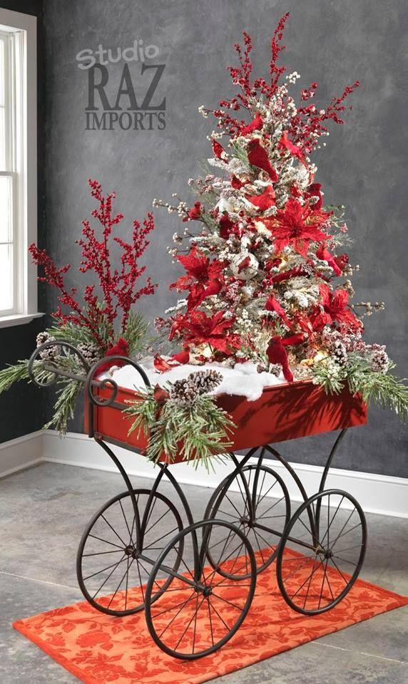 67 best adornos de navidad images on pinterest christmas - Decoracion de arboles de navidad ...