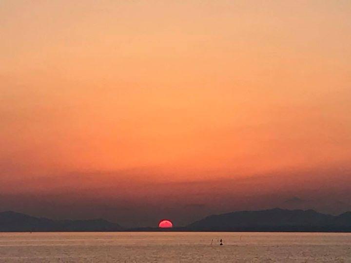 宍道湖の夕日スポット