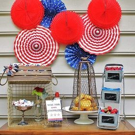 Build your own shortcakes barShortcake Bar, 4Thofjuly, Backyards Bbq, Red White Blue, 4Th Of July, July 4Th, Parties Ideas, Free Printables, Desserts Tables