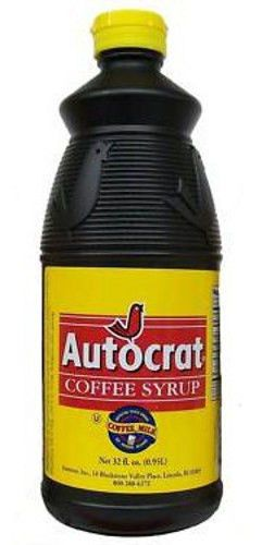 Best of RI - Autocrat Coffee Syrup - 32 Oz Bottle - Make Coffee Milk - DELICIOUS
