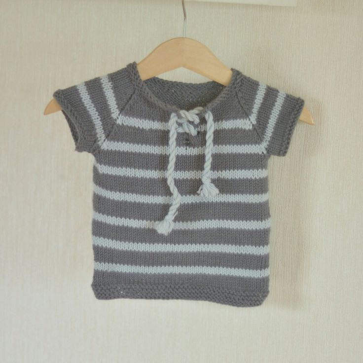 My owndesigned knitted t-shirt.