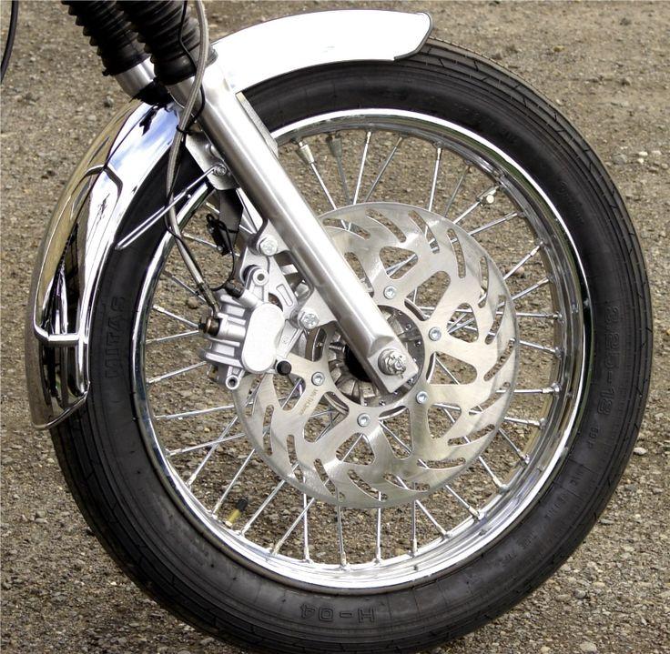 All models have disc front brake
