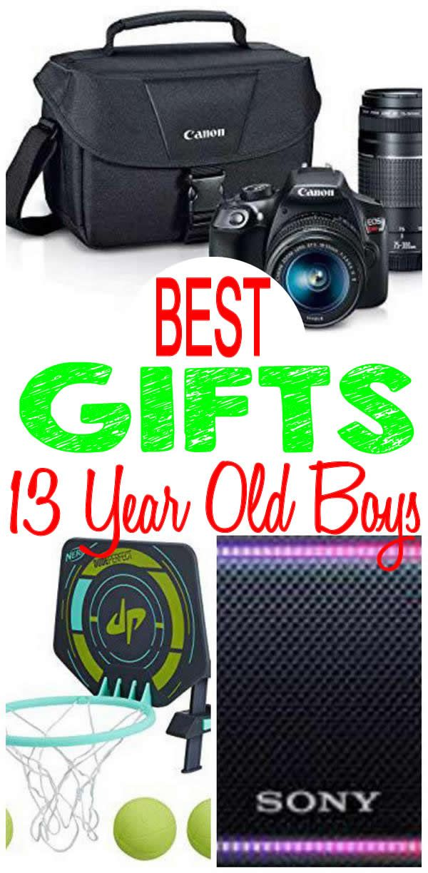 BEST Gifts 13 Year Old Boys Will Love Fun Creative Unique Presents For A 13th Birthday