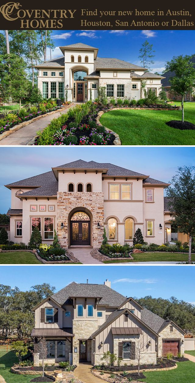 Best custom home builder in san antonio - New Home Builders Coventry Homes Offer Spacious Homes For Sale In Houston Dallas San Antonio And Austin Tx In The Most Highly Sought After Communities