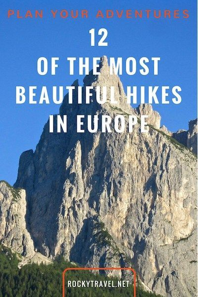 Beautiful Hikes in Europe for the Nature Lover. Either beginner or experienced hiker here are some amazing hiking trips in the Italian Dolomites, along rivers banks paths and in cute villages to add to your bucket list. #hiking #europe