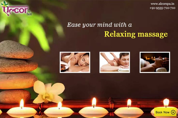 Relax Yourself with the soothing massage offered at Alcor Spa. #AlcorSpa #SpaServices #Massage #PamperYourself #ExperienceEaseOfMind
