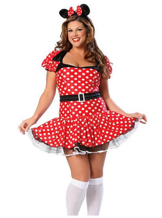 deluxe sexy mouse costume plus size candy apple costumes deluxe costumes - Halloween Costume Plus Size Ideas