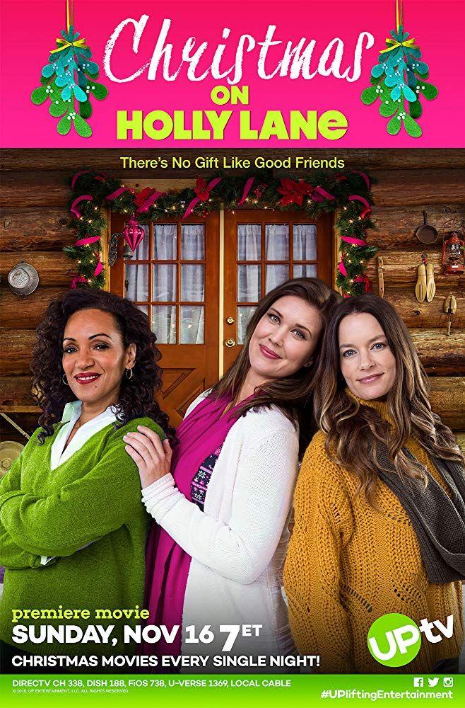 Karen Holness Sarah Lancaster And Gina Holden In Christmas On Holly Lane 2018 Christmas Movies Hallmark Christmas Movies Christmas Movies On Tv