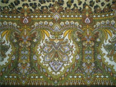 Леопардовые сны (Татьяна Сухаревская), палантин, шерсть 60х150, подрубка, шёлковая бахрома