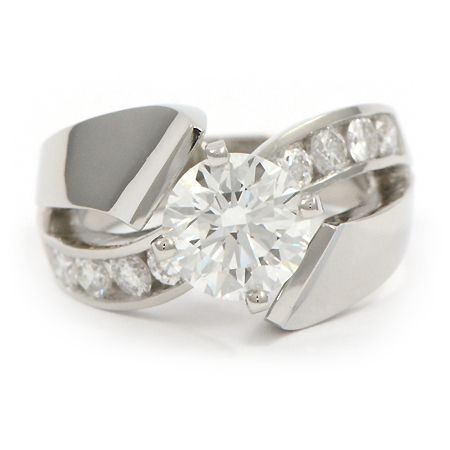 Contemporary Engagement Ring