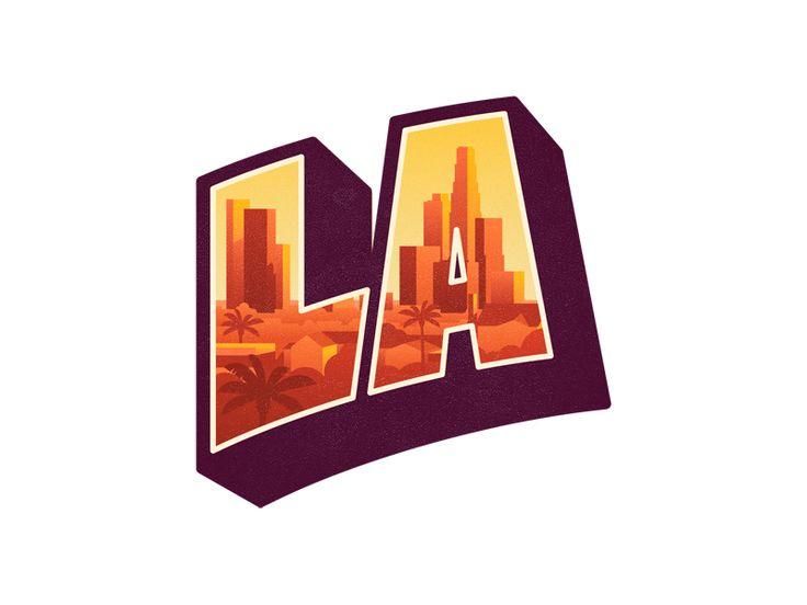 LA - via @designhuntapp