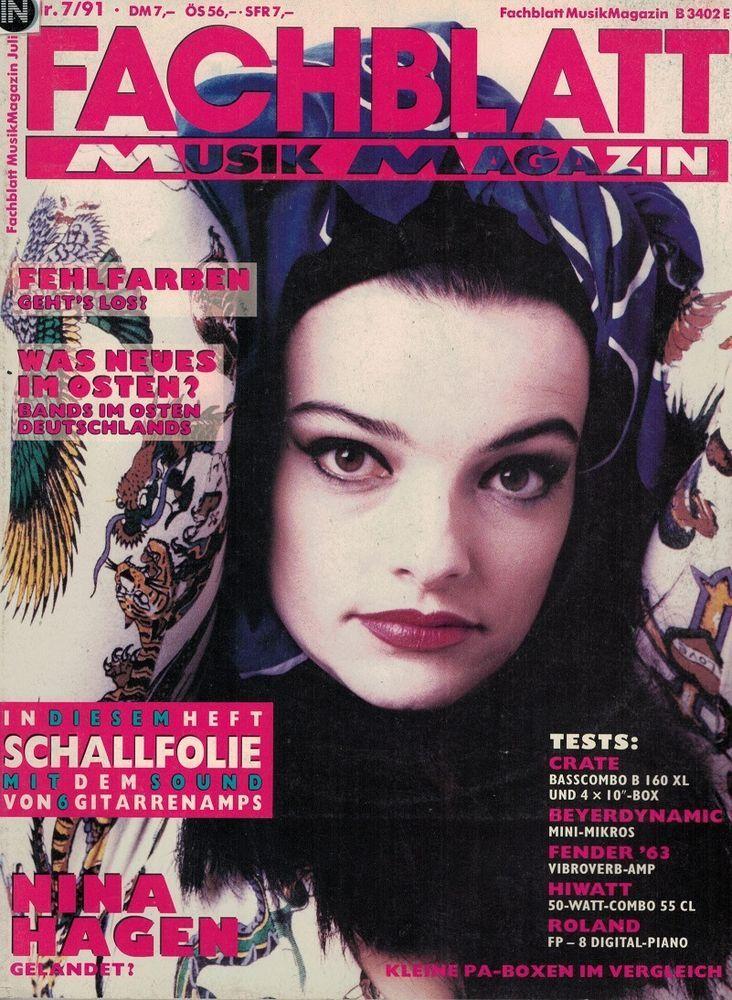 Nina Hagen - Fachblatt Musik Magazin 7/1991