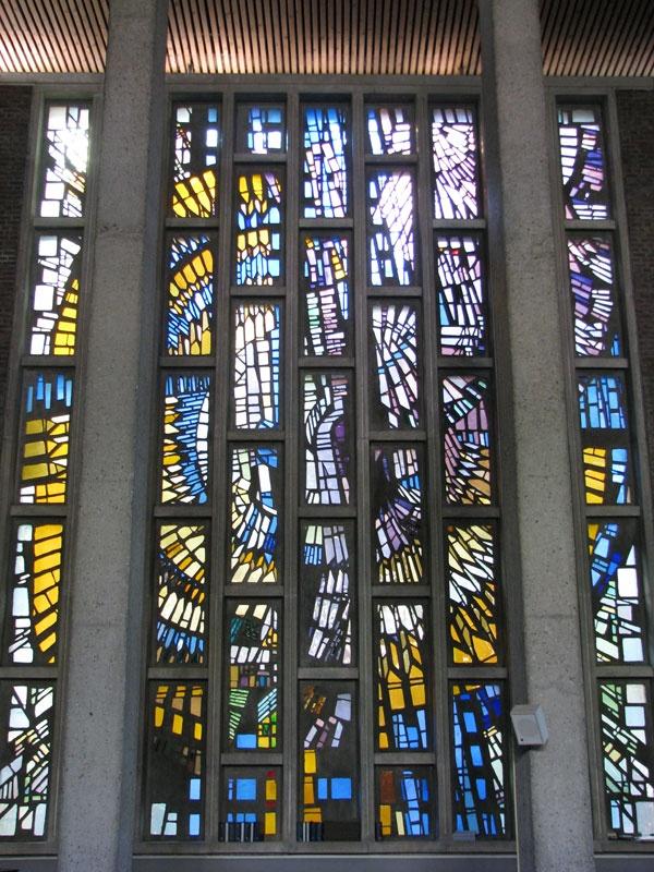 Glas-in-beton-raam Het steiger Rotterdam