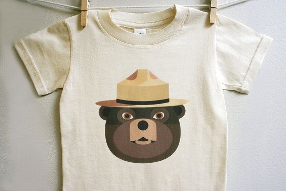 OH my goodness! I loved Smokey The Bear when I was little growing up in WA state!