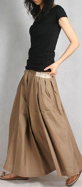 lovely long flowing skirts