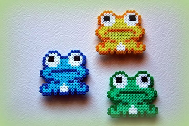 Frogs hama perle