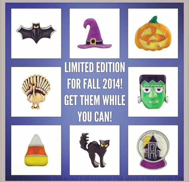 Origami Owl Fall 2014 limited edition charms