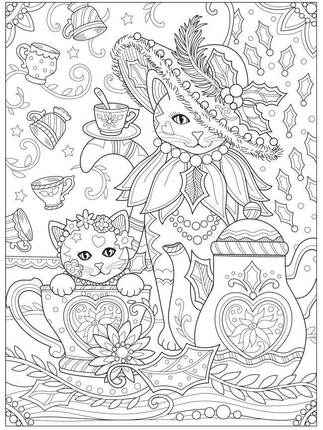 Welcome To Dover Publications Cat Coloring Book Cat Coloring Page Coloring Pages