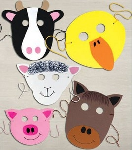 Craft Foam Animal Masks: For Babies & Kids: Shop | Joann.com