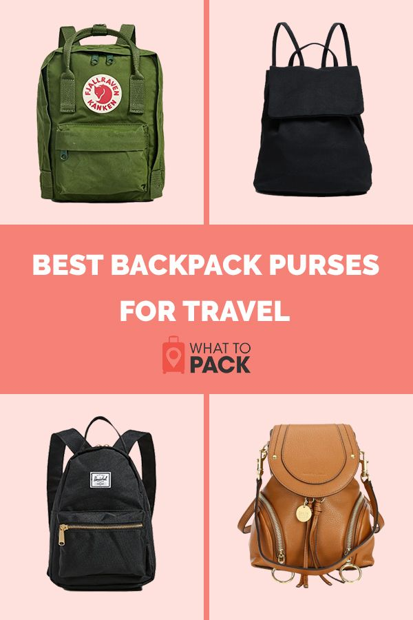 7bbb0f173ccf Best Backpack Purses for Travel