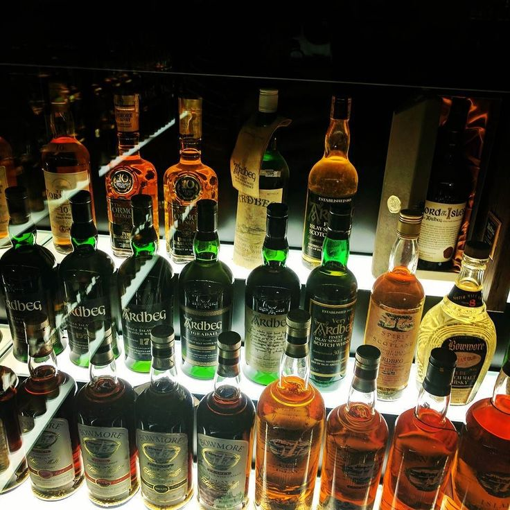 Part of the largest Scotch Whisky collection in the world.
