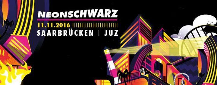 Neonschwarz I #Saarbruecken I Juz Foerster             11. #November 2016  19:00  / Jugendzentrum FoersterstrasseFoersterstrasse.68  66111 #Saarbruecken #Germany  Neonschwarz  Eskalation #Tour 2016Support: DiscoCtrlpraesentiert von ByteFM, Noisey und Plastic Bomb Fanzine #Freitag, 11.11.2016Einlass : 19UhrBeginn : 20Uhr Neonschwarz ist keine Farbe. Neonschwarz ist ein Planet. Oder doch eine Galaxie Funkelnde Sterne, blinken