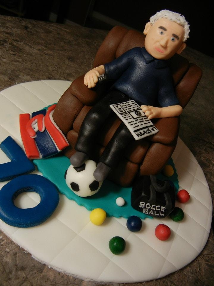 Fondant Cake Design For Husband : Perfect Dad, husband, grandpa Birthday Cake. Cakes ...