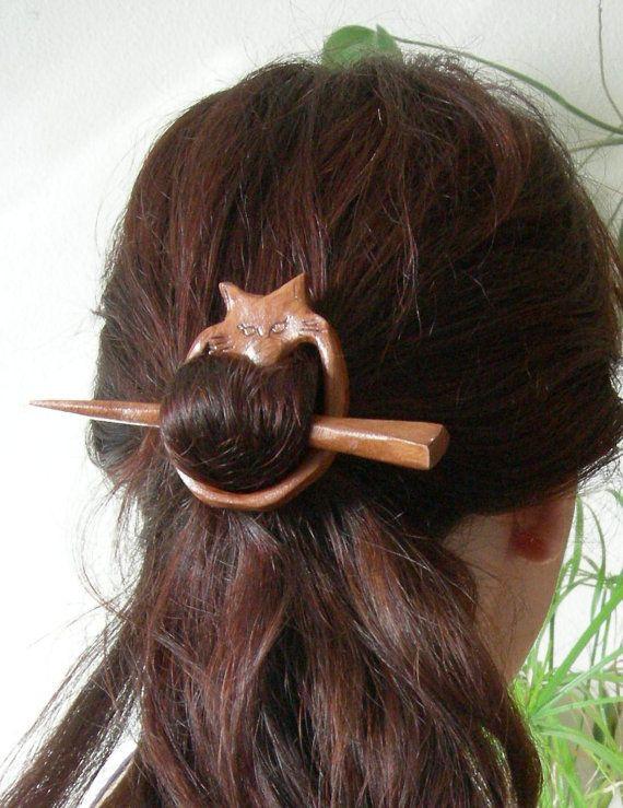 Epingle à cheveux renard
