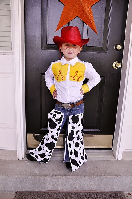 oh my goodness if we are having another little girl i could make a - Toddler Jessie Halloween Costume