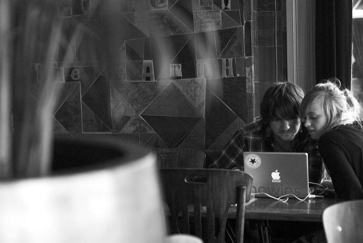 Working in Cafe Dwaze Zaken