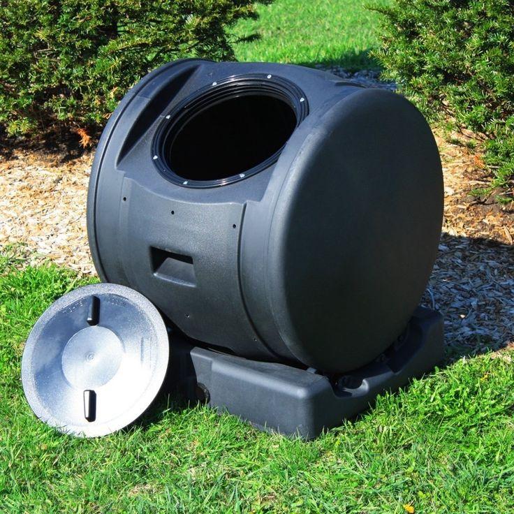 Tumbling Composting Bin Tumbler Composter and Compost Tea Maker