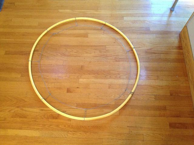 52 best Hula Hoop wreaths images on Pinterest | Hula hoop, Hula ...